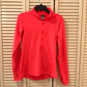 Nike hot pink dry fit long sleeve